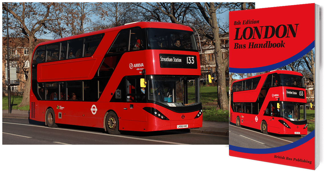 London Bus book - 8th Edition