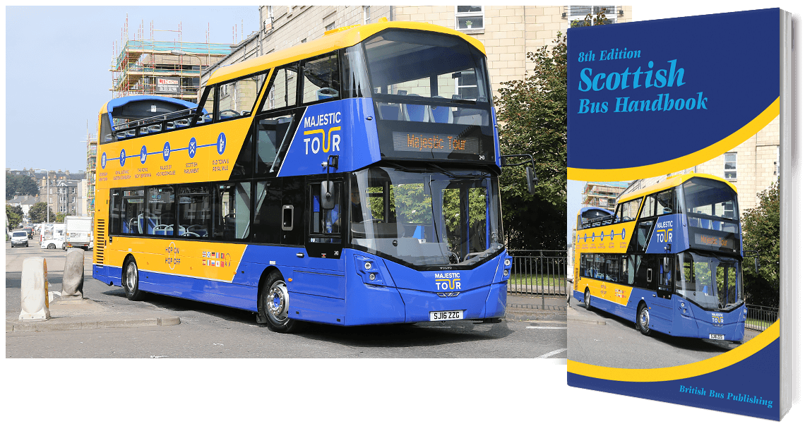 Scottish Bus Handbook - 8th Edition