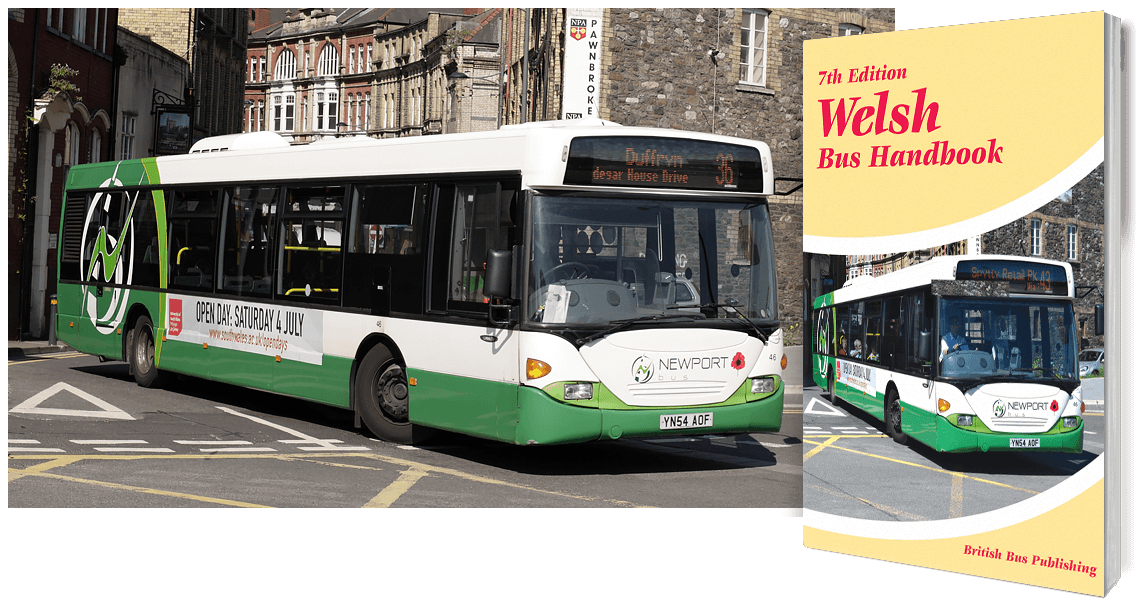 Welsh Bus Handbook - 7th Edition