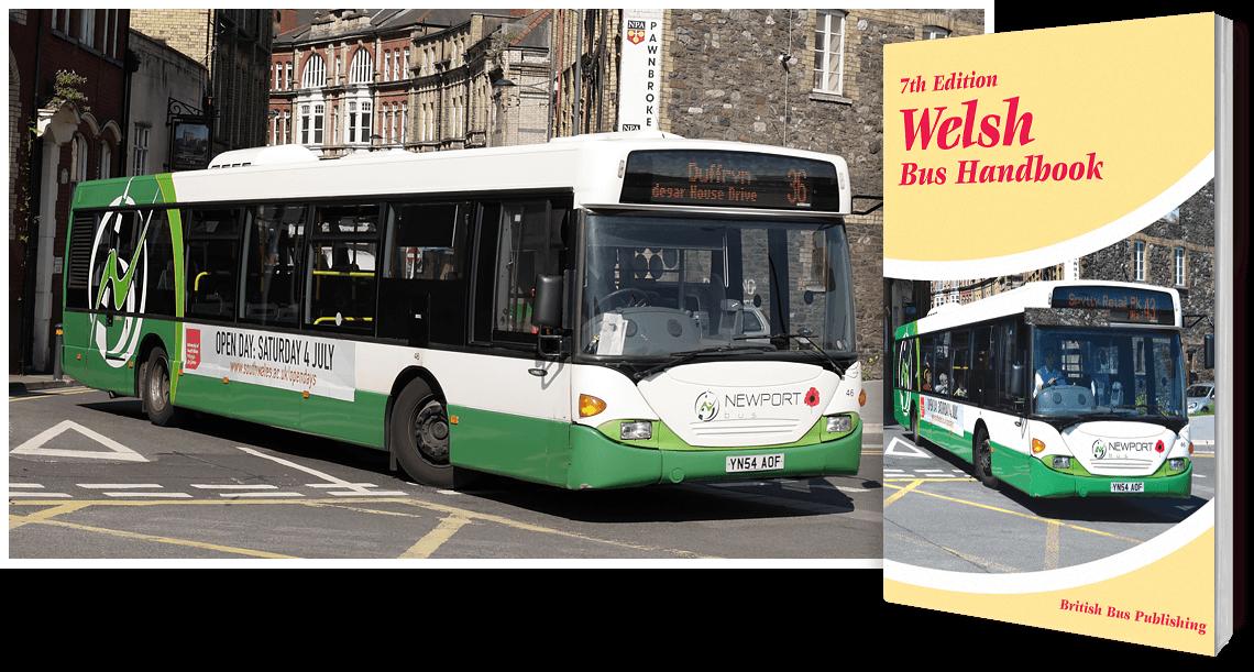 Welsh Bus Handbook - 7th Edition